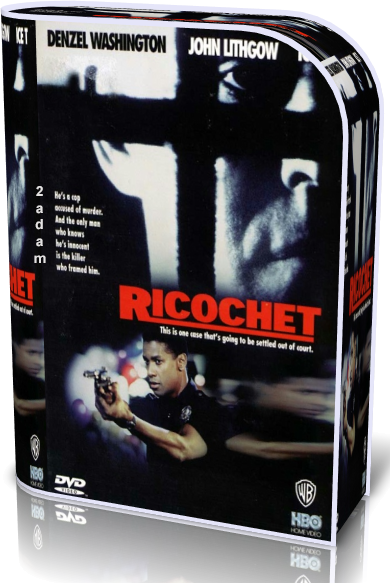 Rykoszet (1991)  Blu-ray Video-720p-H.264-AVC-AAC / Lektor / PL