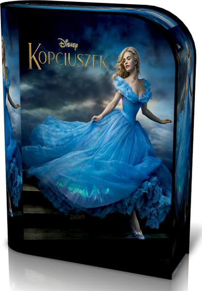 Kopciuszek (2015) Blu-ray Video-536p-H.264-AVC-AAC / Dubbing / PL