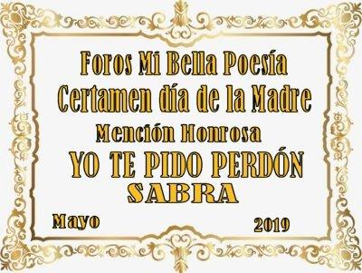 RECONOCIMIENTOS SABRA J34n8546cy2
