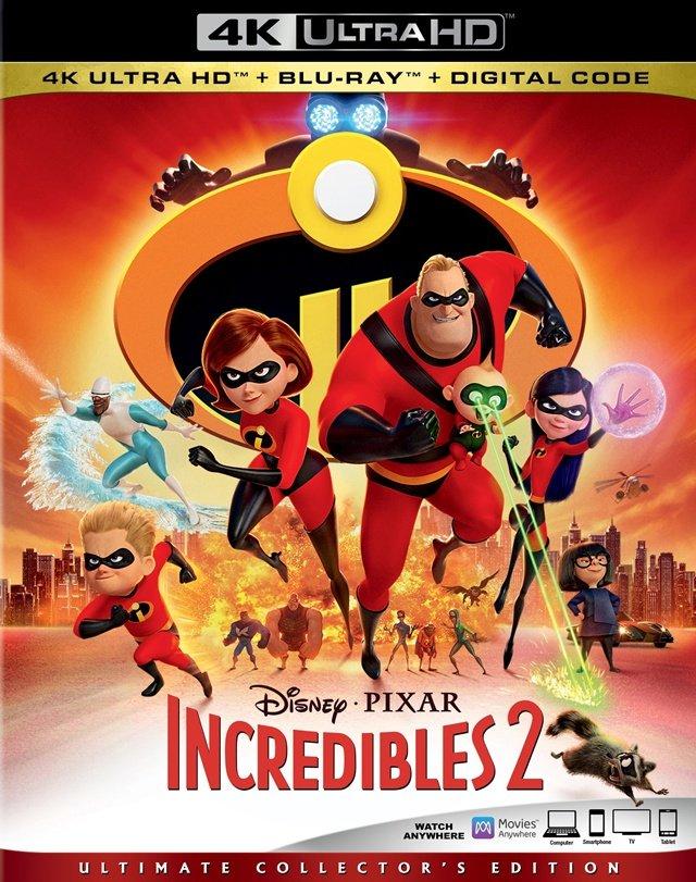 Iniemamocni 2 / Incredibles 2 (2018) PLDUB.2160p.UHD.BluRay.DD5.1.x265-P2P / Dubbing PL i Napisy PL