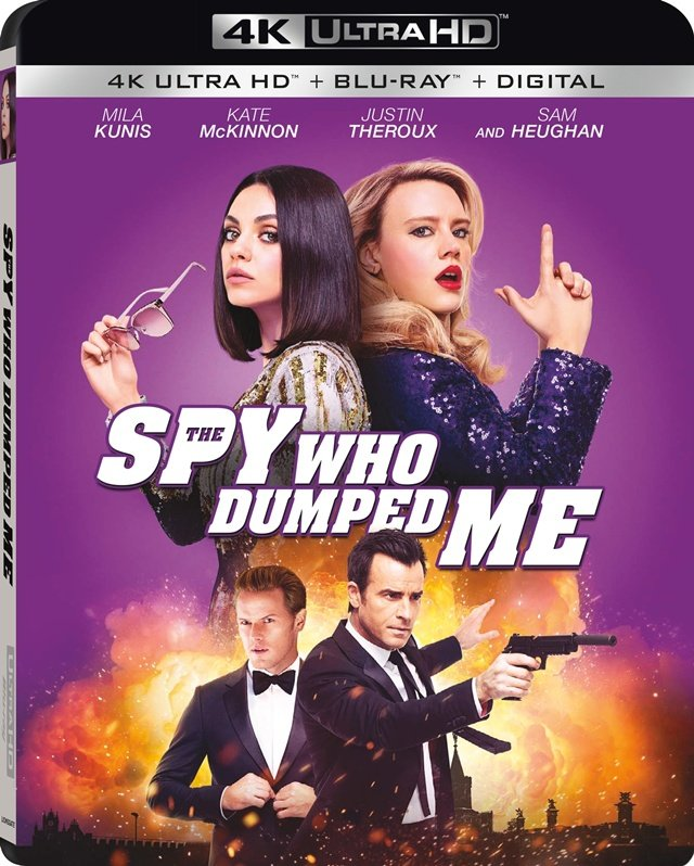 Szpieg, który mnie rzucił / The Spy Who Dumped Me (2018) PL.DUAL.2160p.UHD.BluRay.x265-FLAME / Lektor PL i Napisy PL